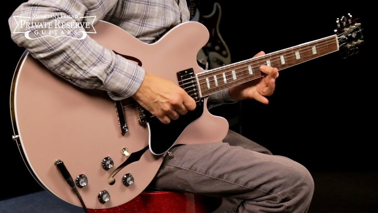 Gibson Limited Run Metallic ES-335 Semi-Hollow Electric Guitar