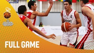 Watch live the semi final between and at the FIBA U20 European Championship 2017. ▻▻ Subscribe: http://fiba.com/subYT Click...