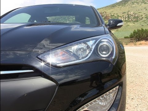 2013 Hyundai Genesis Coupe 0-60 MPH Drive & Review