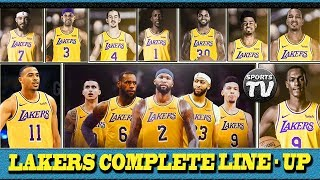Los Angeles LAKERS KUMPLETO na ang LINE UP | Puro 3 Point SHOOTER | PlayOFF Contender