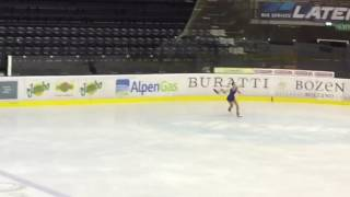 Nina Roverselli 1a gara nazionale elite Bolzano 6/11/2016