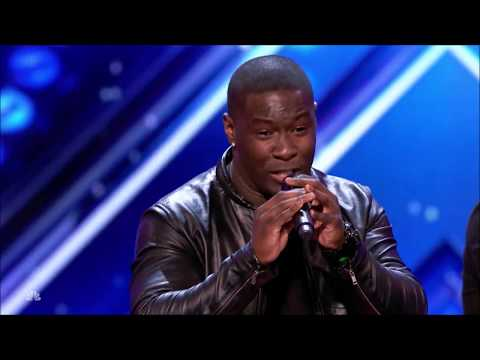 Final Draft: Guys Group WOWS Crowd With 'It's A Man's Man's Man's World' | America's Got Talent 2017