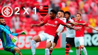 Resenha de Sacis da Beira-Rio 2 X 1 FLAMENGO pelo segundo turno do Campeonato Brasileiro 2016... #SRN