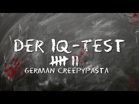 Der IQ-Test - CREEPYPASTA (Grusel, Horror, Hörbuch, Thriller) DEUTSCH *2000 Abonnenten yeah*