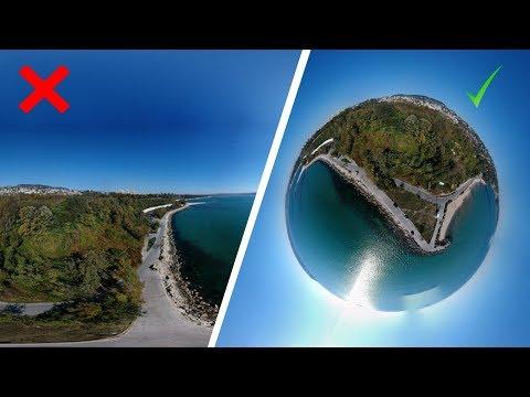 DJI Spark 360 Sphere Panorama Tutorial