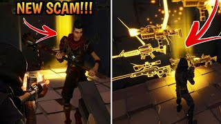 Video *NEW SCAM* Invisible Barrier Scam! (Scammer Gets Scammed) Fortnite Save The World MP3, 3GP, MP4, WEBM, AVI, FLV Juli 2018