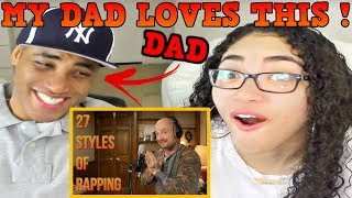 Video MAC LETHAL 27 Styles of Rapping REACTION | MY DAD REACTS MP3, 3GP, MP4, WEBM, AVI, FLV Juli 2018