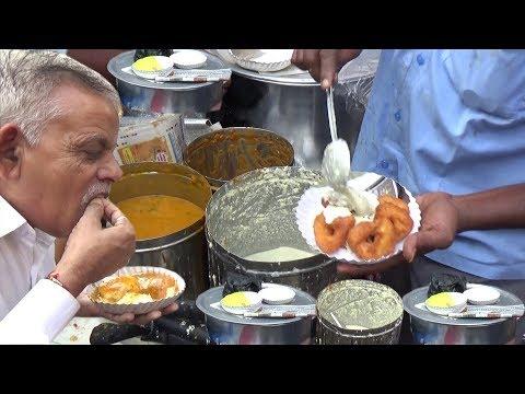 Anna ka Breakfast | Anything U Eat @ 20 Rs Plate | Roadside Street Vendor