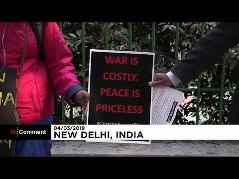 Διαδήλωση υπέρ της ειρήνης στην Ινδία