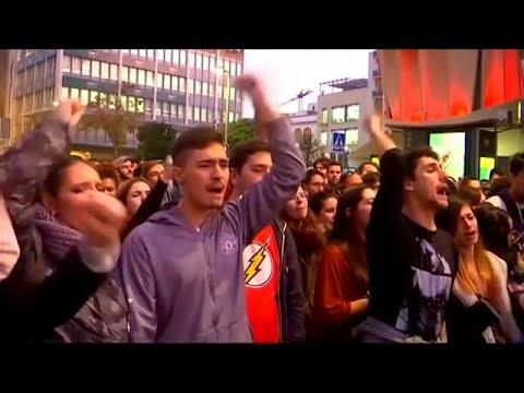 Στους δρόμους κατά του Vox στην Ανδαλουσία