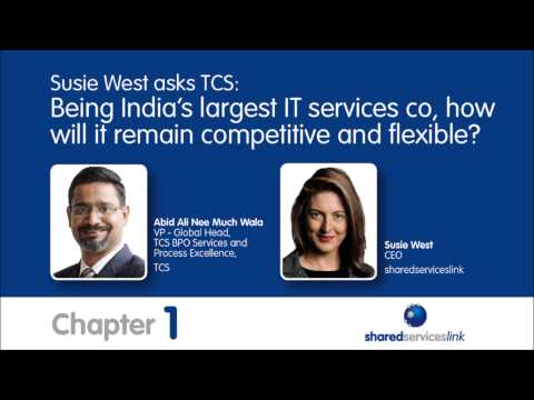 How do TCS remain flexible with such a large global footprint?