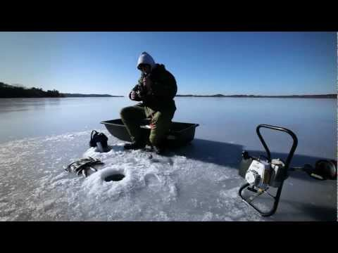 Ice Fishing - A Pure Michigan Winter