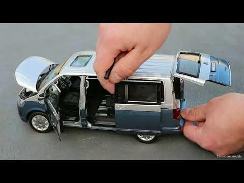 1:18 Volkswagen Multivan T6 - NZG [Unboxing]