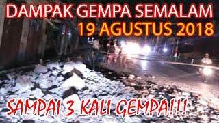 Video MENCEKAM! PASCA GEMPA BESAR 7.0 SR TADI MALAM DI LOMBOK & BALI! 19 Agustus 2018 - Bali Today MP3, 3GP, MP4, WEBM, AVI, FLV Agustus 2018