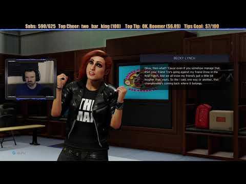 WWE 2K20 My Career Mode playthrough pt16 - A Shocking, Hysterical, BIONIC Return!!!