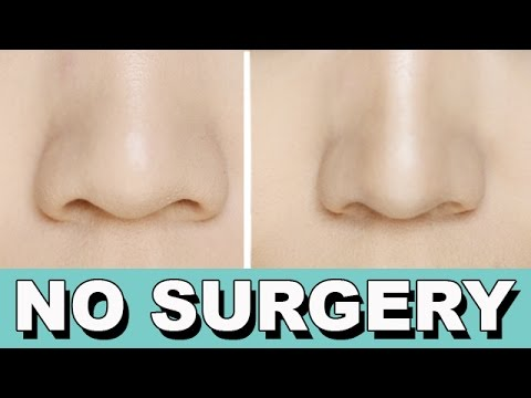 How To Make A Big Nose Look Smaller No Surgery