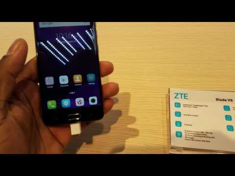 ZTE Blade V8 CES 2017 Hands On!