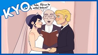 Adrien And Marinette Get Married (Hilarious Miraculous Ladybug Comic Dub)