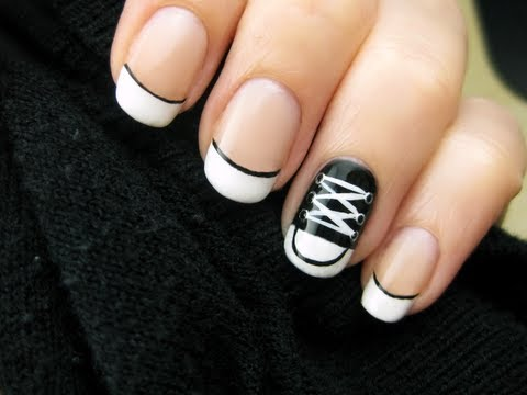 nail art - look converse