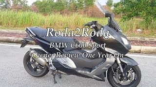 7. BMW C600 Sport Owner Review One Year O