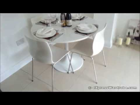 IKEA Docksta Table with Erland Chairs – Dining Set Design