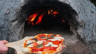 I made this pizza oven out of clay, sandy soil, straw, and some bricks for a cooking surface. I created a dome of wood and covered it with mud. Then, i layered ...