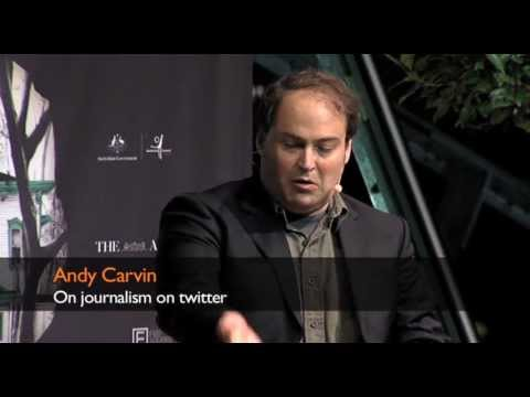 Andy Carvin on journalism on twitter