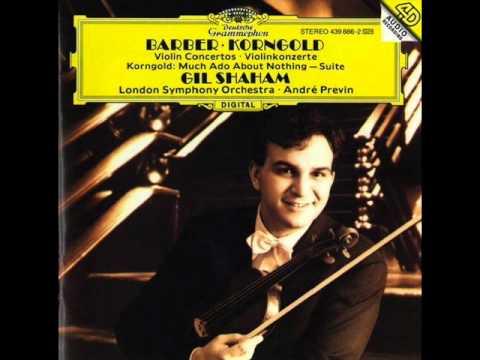 Samuel Barber - Violin Concerto Op.14 - Shaham, Previn, LSO