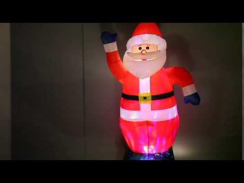 www.vedia.ch LED-Weihnachtsmann   Bonhomme de neige