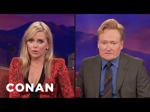 Anna Faris Teaches Conan How To Look Sexy  - CONAN on TBS