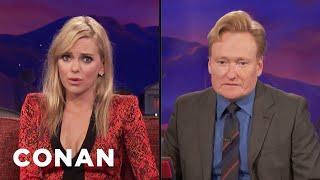 Anna Faris Teaches Conan How To Look Sexy  - CONAN on TBS