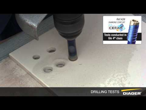 DIAGER DRILLING TESTS