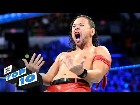 Top 10 SmackDown LIVE moments: WWE Top 10, July 11, 2017 видео