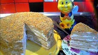 """торт """"Медовик"""" по рецепту моей мамы"""