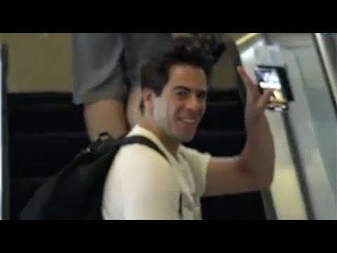 Eli Roth Wonders Why A Paparazzo Is Filming Him At LAX