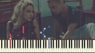 Твои глаза - LOBODA (Видеоурок для фортепиано) (piano cover)