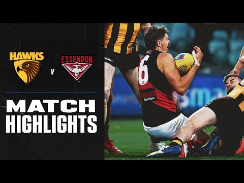Hawthorn v Essendon Highlights | Round 14, 2020 | AFL