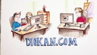 Hand Drawn Explainer Video: Diokan