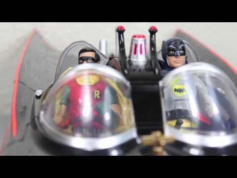 Batman Classic TV Series Batmobile 1966 Vehicle Mattel Toys R Us Exclusive Review