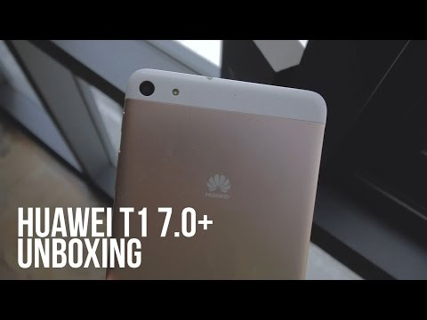 Huawei MediaPad T1 7.0 Plus Tablet Unboxing and Impression