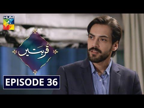 Qurbatain Episode 36 HUM TV Drama 9 November 2020