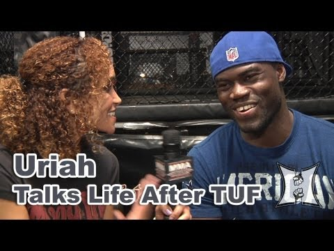 UFC - MMA H.E.A.T.'s Karyn Bryant talks with UFC Middleweight Uriah Hall at Reign Training Center and hears what he has to say about his first training session wit...