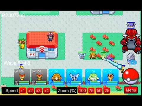 Pokemon Tower Defense - How to beat the Viridian City Achievement Shadow Squirtle