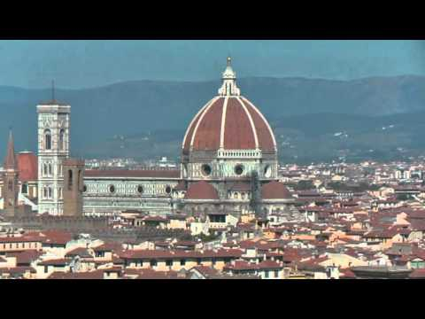 Italy Piazzala Michelangelo view on Florence Italië Uitzicht op Florence