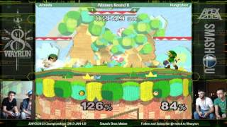Rare Matchups – Hungry Box (Ness, Jiggs) vs. Armada (Young Link) APEX 2013 – You haven't seen Melee like this.