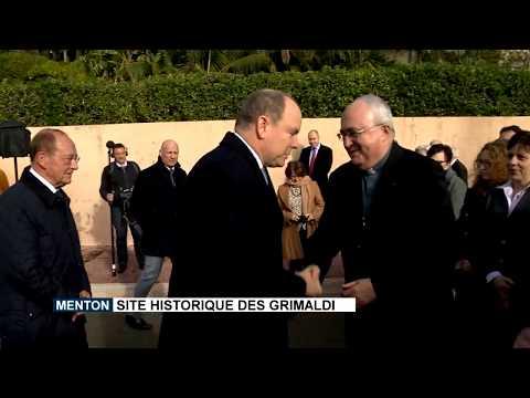 Menton : Site historique des Grimaldi