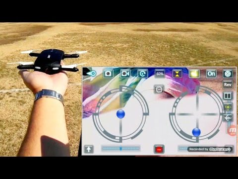 JJRC H37 Elfie Foldable Selfie Drone Flight Test Review