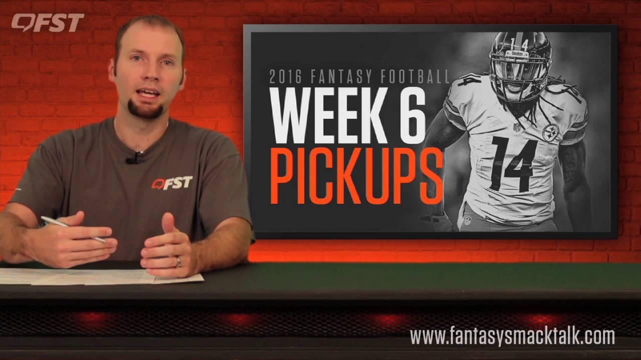 Fantasy Football: Week 6 Waiver Wire thumbnail