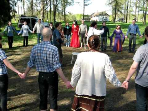 Русские танцы, урок - Во саду ли, в огороде