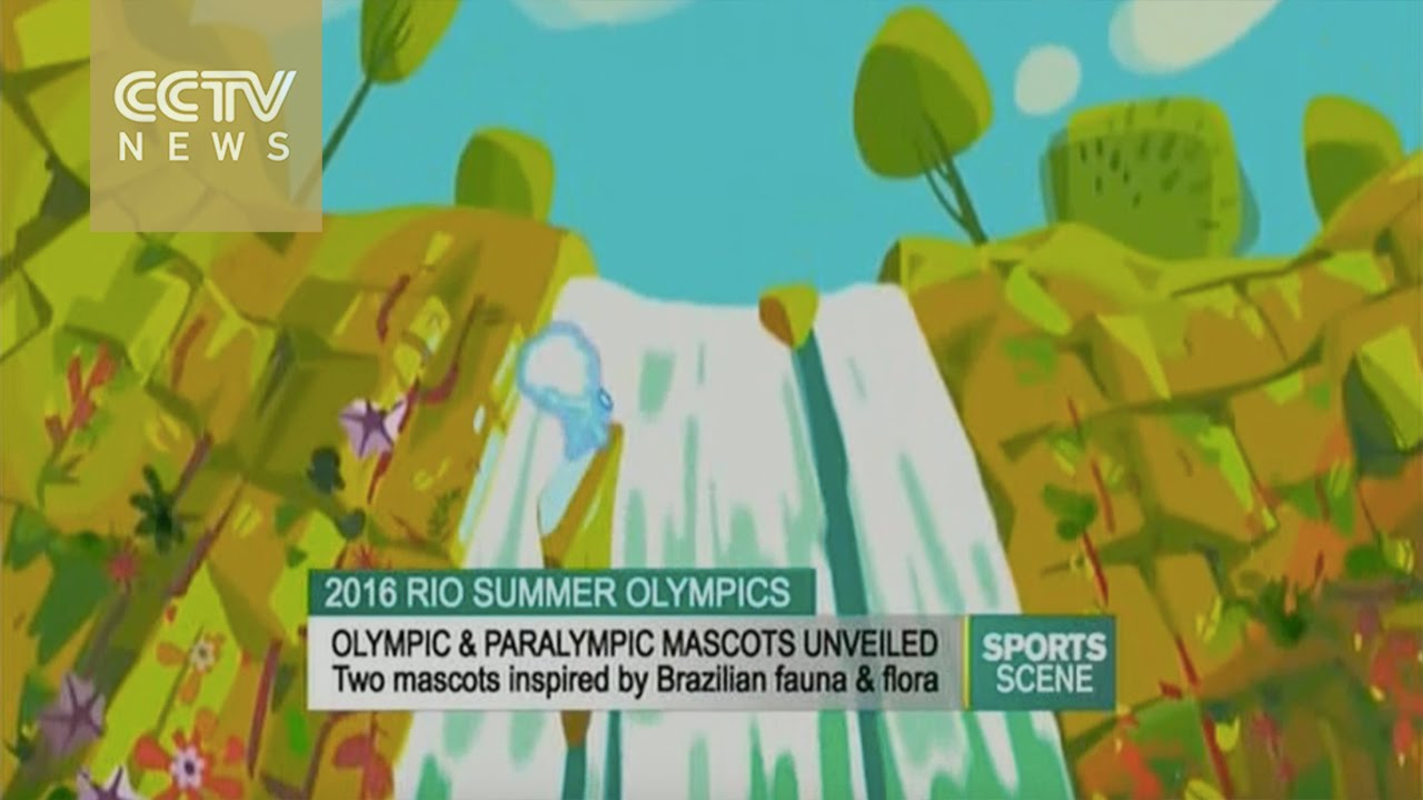 2016 Olympic & Paralympic mascots unveiled
